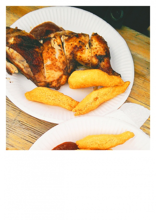 photo fries and chicken