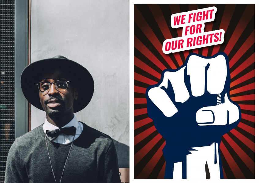 We fight for our rights