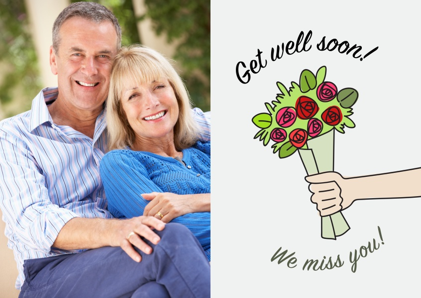 Get well soon! We miss you!