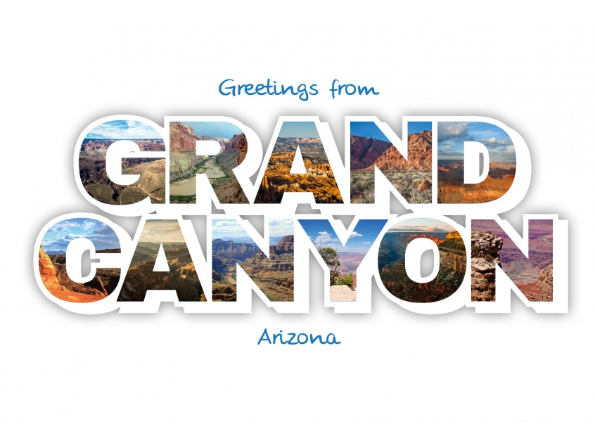 Postkarte Grand Canyon