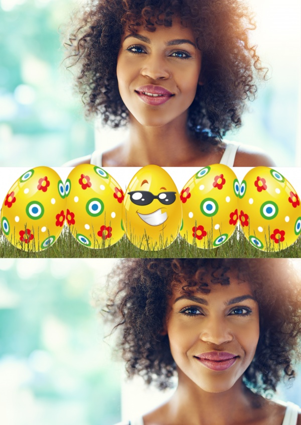 graphic yellow egg with sunglasses