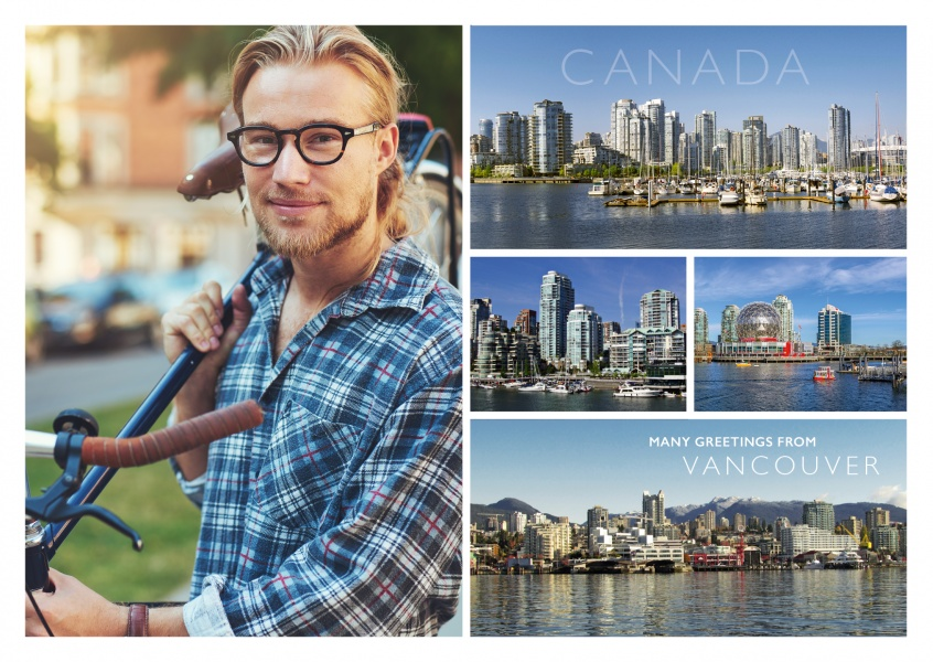 Vancouver multipicture collage