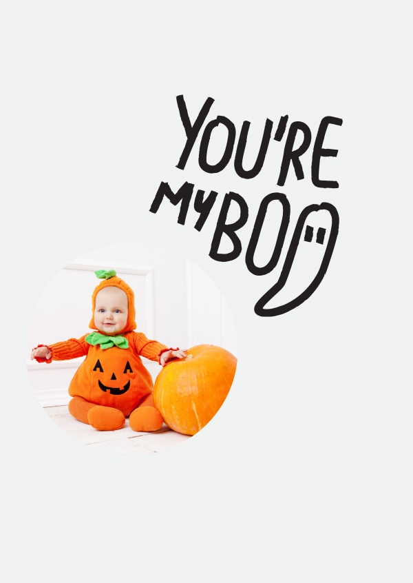 You're my Boo. Black text on white background.