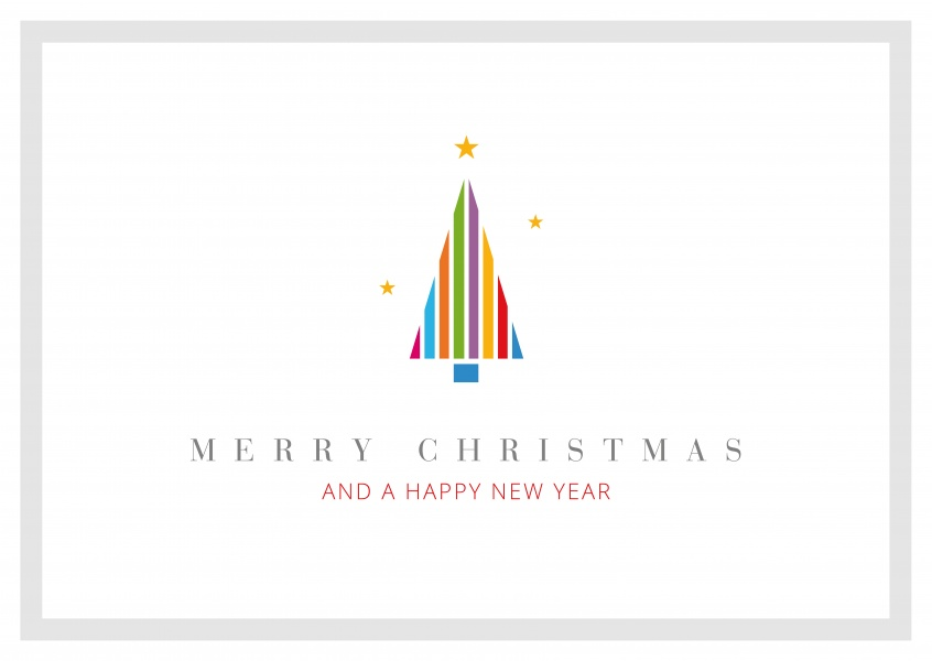 Meridian Design Merry Christmas & a Happy New Year Tanne