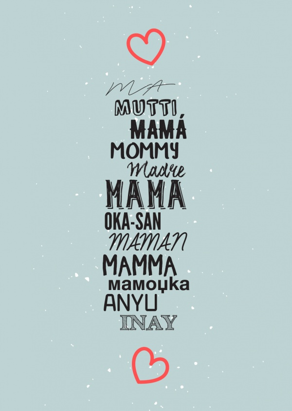 Mother in lots of languages