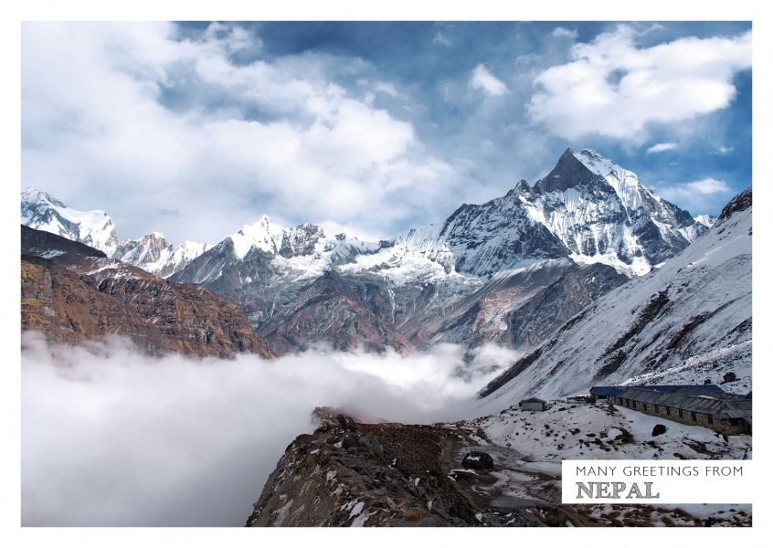 Nepal Himalaya photo