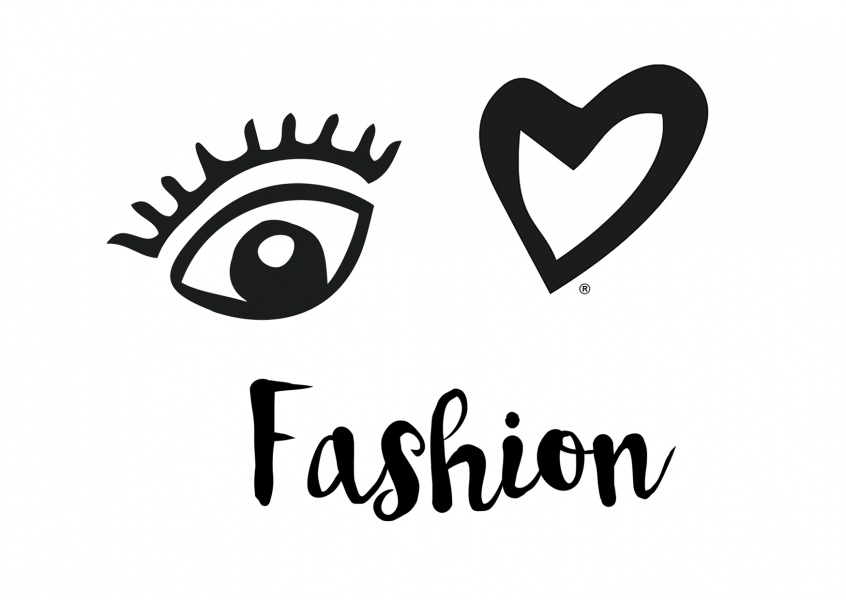 Illustration Eye love Fashion