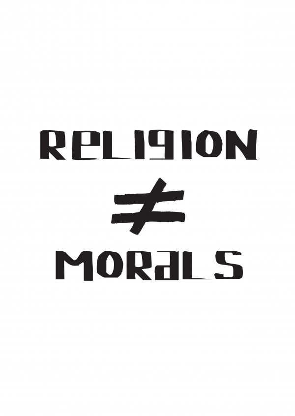 Religion and morals are not the same.