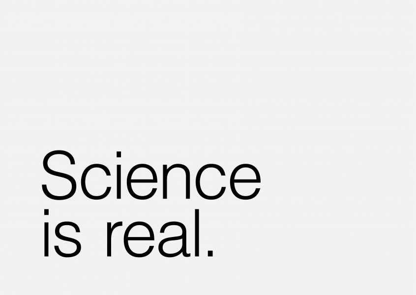 Science is real