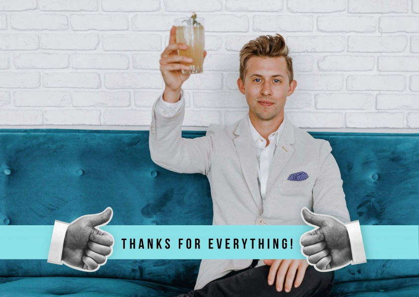 Thanks for everything! Thumbs up