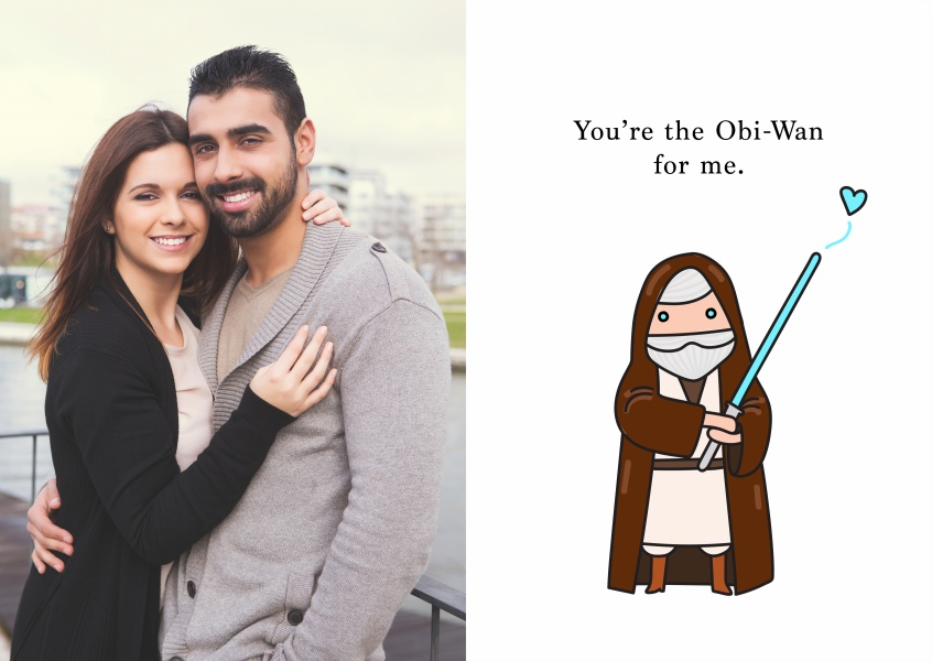 You´re the Obi-Wan for me.