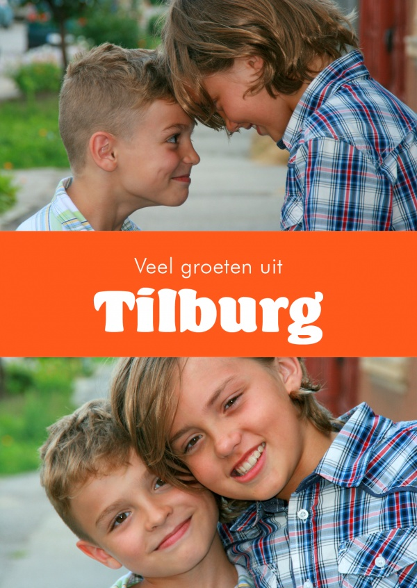 Tilburg greetings in Dutch language