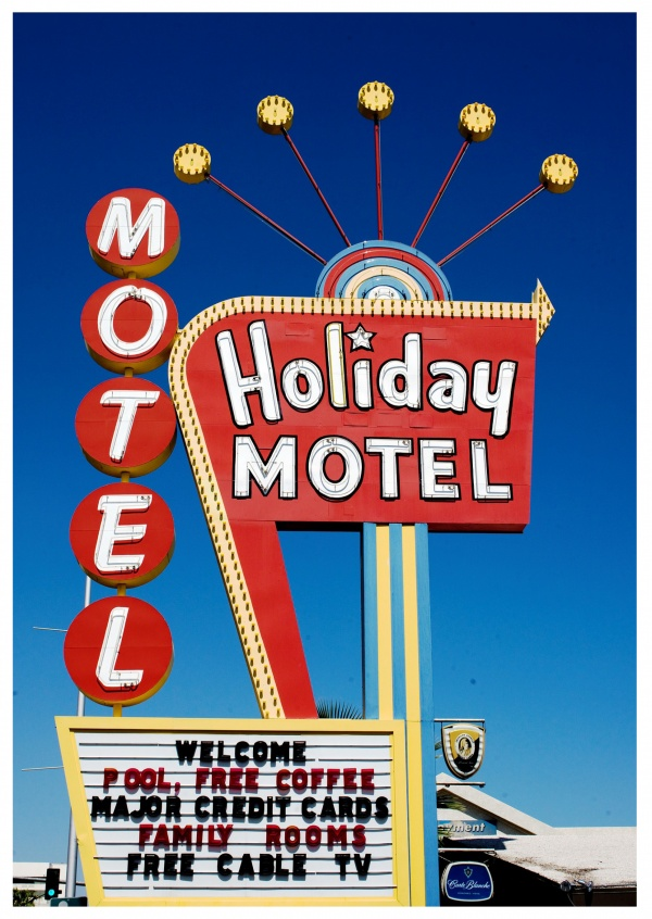 photo typical US motel