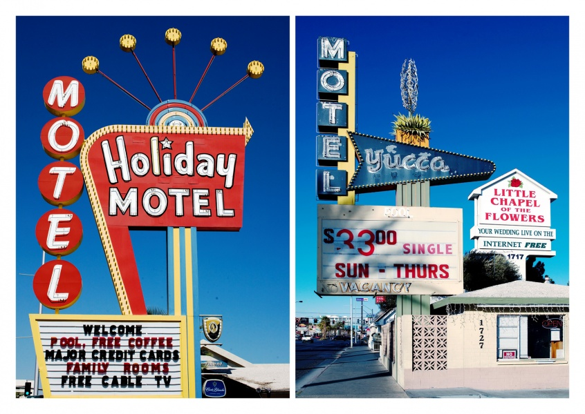 photo typical US motels