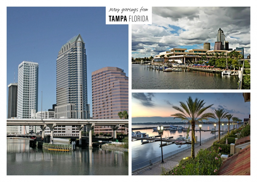 Three photos of Tampa / Florida