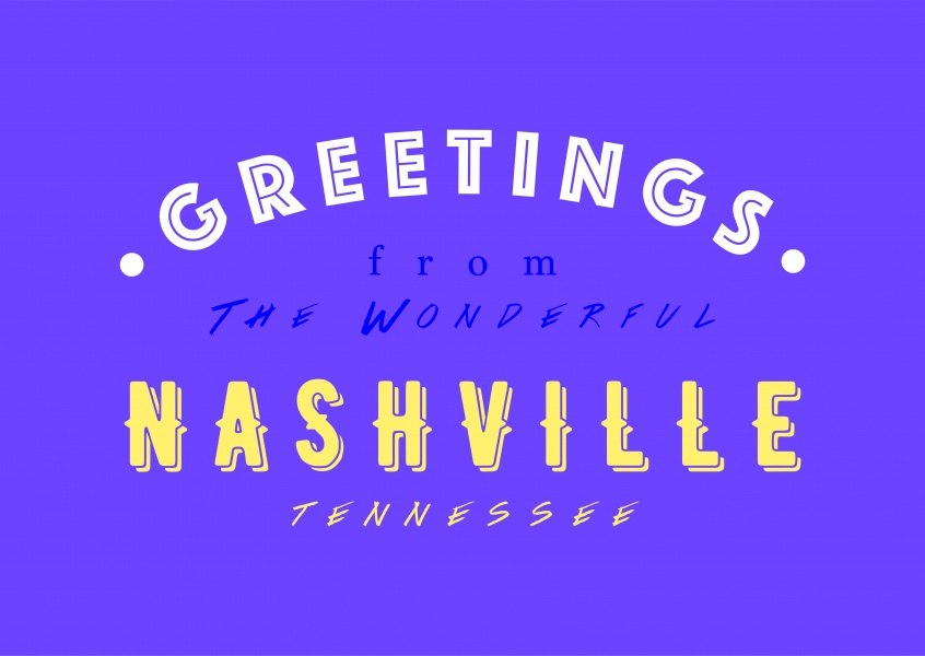 Greetings from the wonderful Nashville