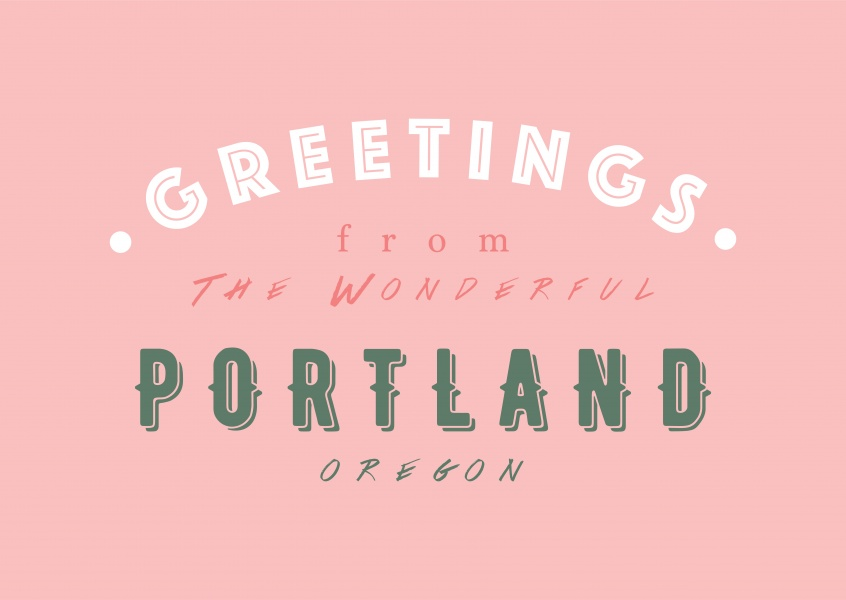 Greetings from the wonderful Portland