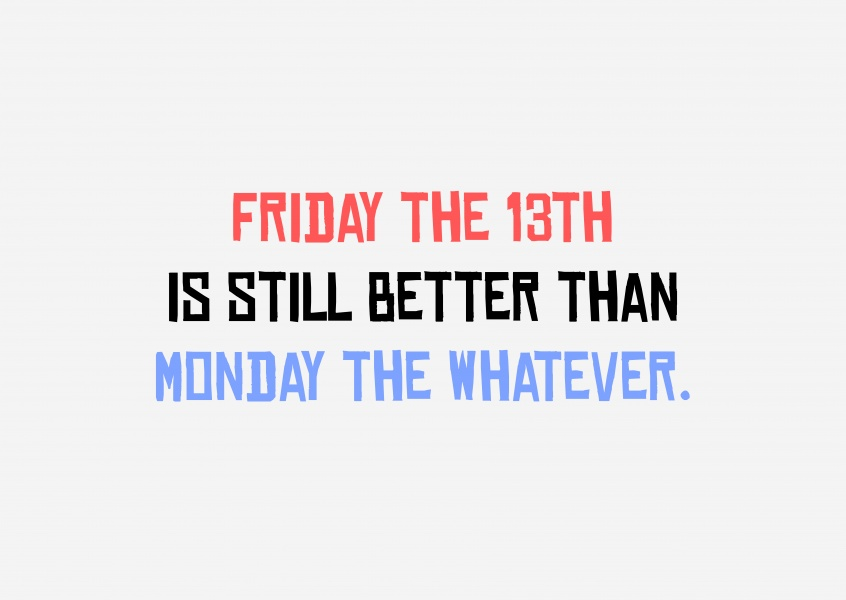 Friday the 13th quote
