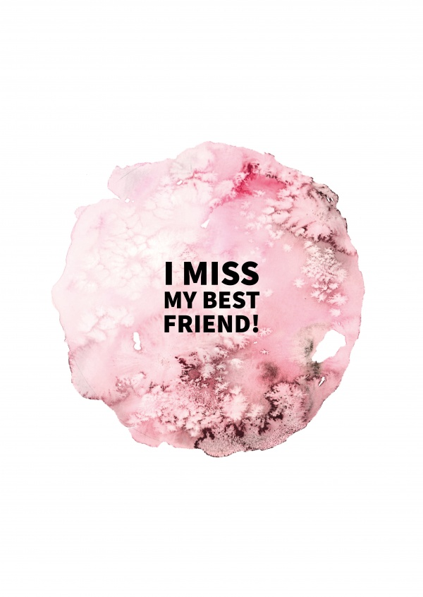 I miss my best friend! | Friendship Cards & Quotes 🎎🤩 | Send real  postcards online