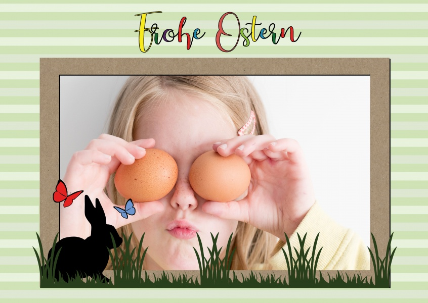 Over-Night-Design frohe Ostern