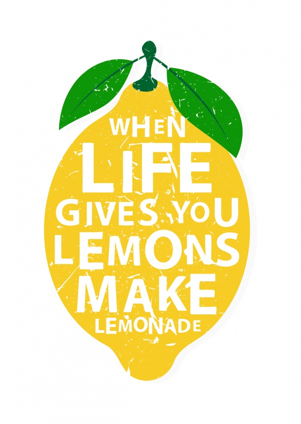 Funny quote inspirational life lemons lemonade