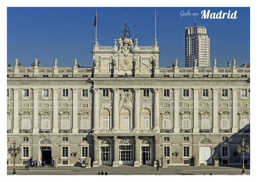 Photo of the Royal Palace in Madrid–mypostcard