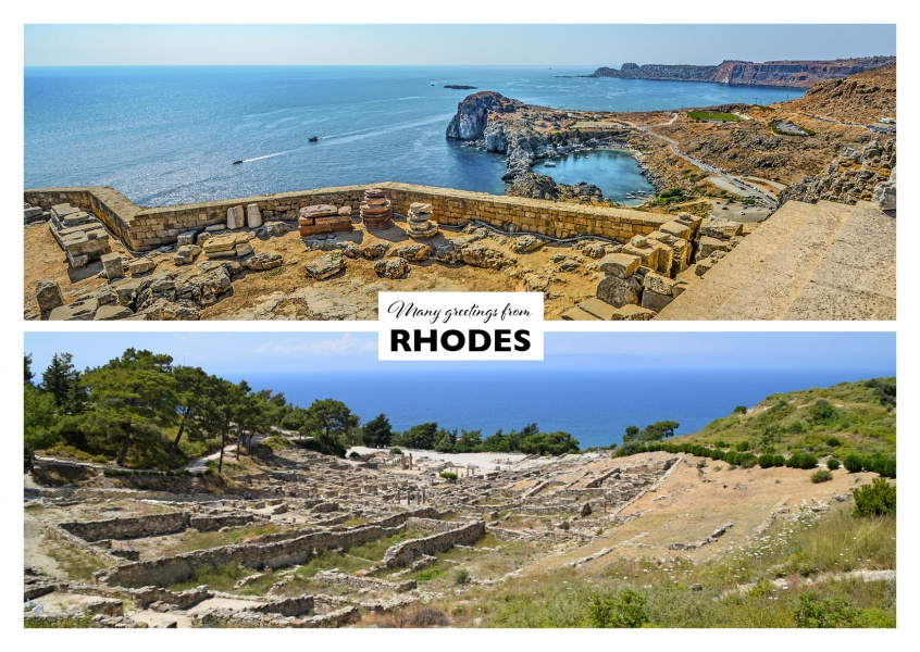 Rhode's hilly island nature in two photos