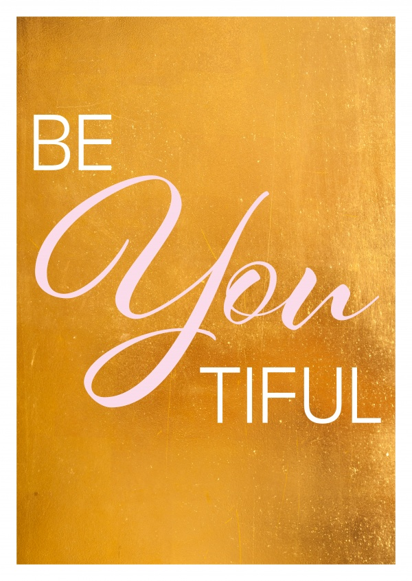 BeYOUtiful quote