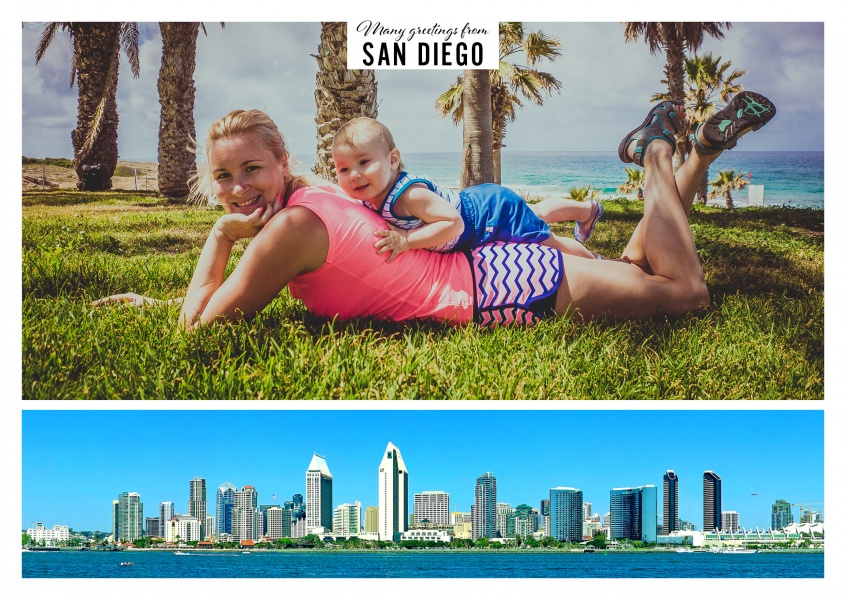 panorama photo of the skyline of San Diego