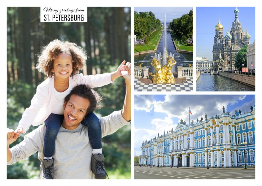 Decadent sights of St. Petersburg