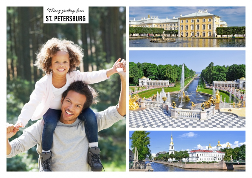 Most beautiful sights of St. Petersburg