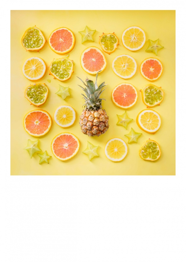 photo arranged citurs fruits