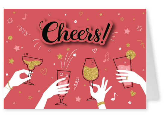 Cheers Illustration