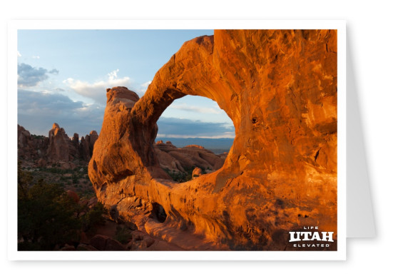 Utah Arches National Park Double O Arch