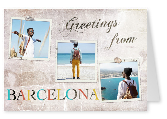 Greetings from Barcelona