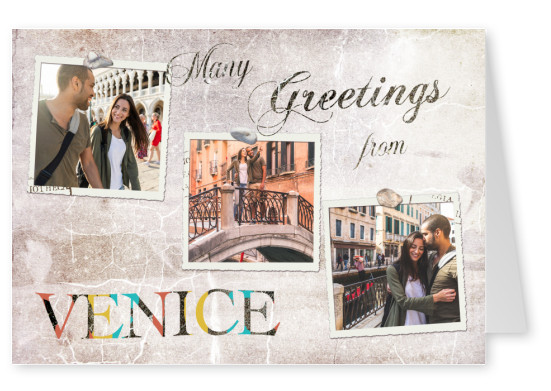Greetings from Venice