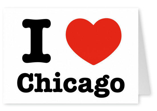 I love Chicago - I love Chicago Postcard