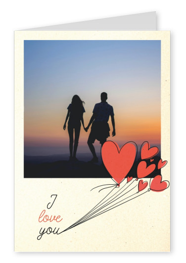 postcard I love you