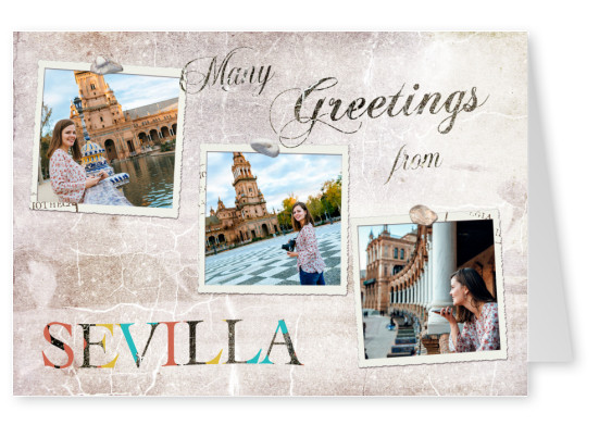 Many greetings from Seville
