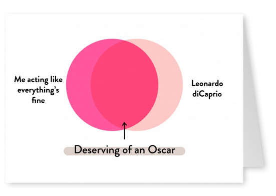 Me and Leonardo DiCaprio - Deserving of an Oscar