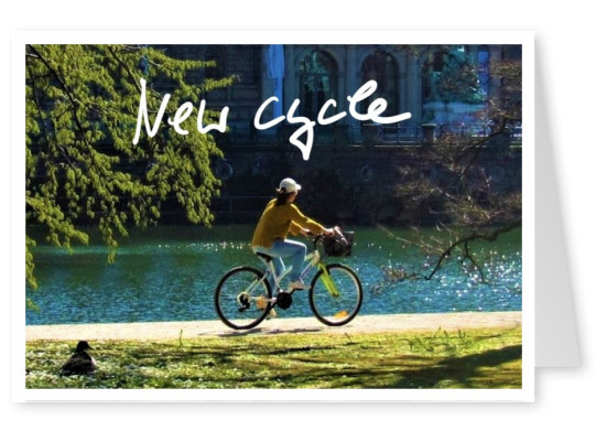 postcard New Cycle
