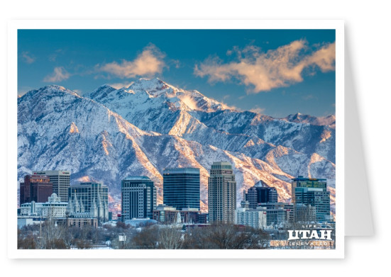 Utah  Salt lake city Winter