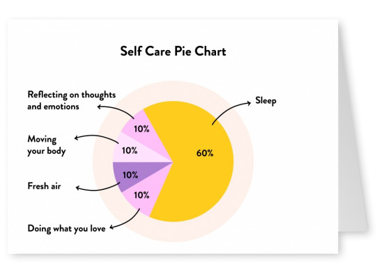 Self Care Pie Chart