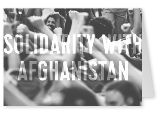 Solidarity with Afghanistan