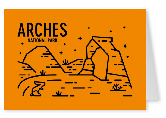 Arches National Park Graphic