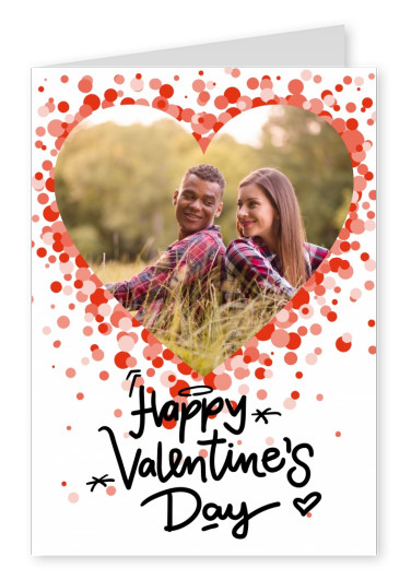 Editable Greetingcard for Valenitine`s day