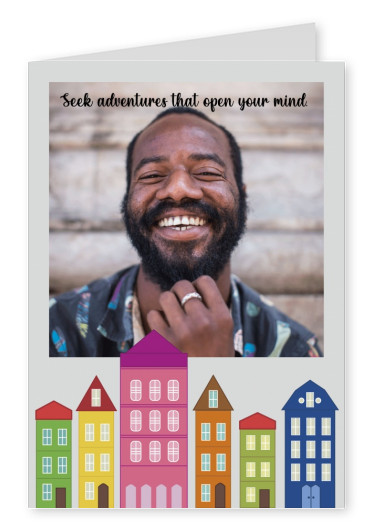 postcard Seek adventures that open your mind