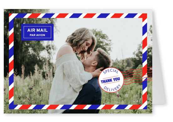airmail letter design