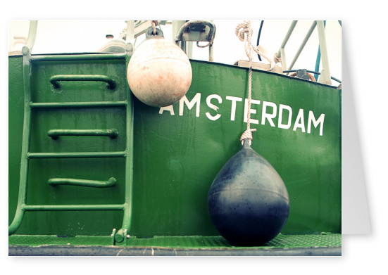 Amsterdam ship detail