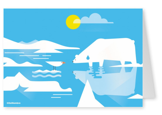 Del Hambre Illustration arctic